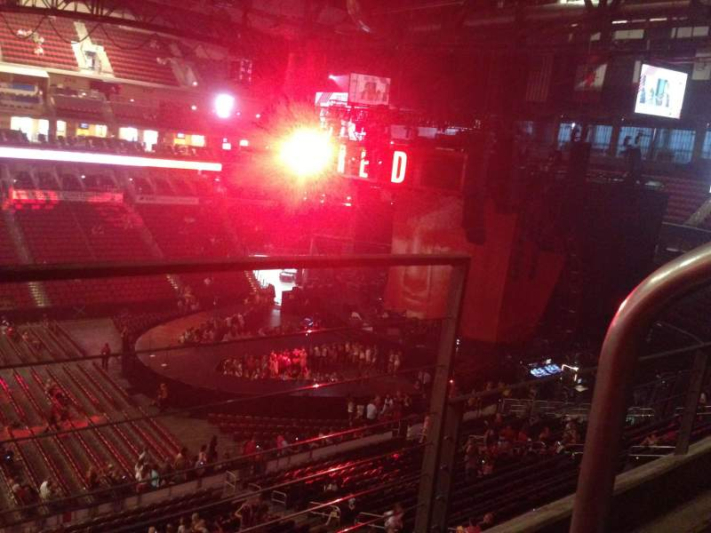 Seating view for Wells Fargo Arena Section 205 Row B Seat 1