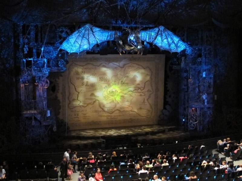 Gershwin Theatre, section: Mezzanine, row: D