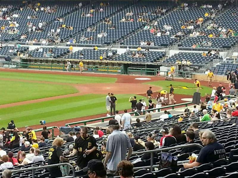 Seating view for PNC Park Section 128 Row CC Seat 24