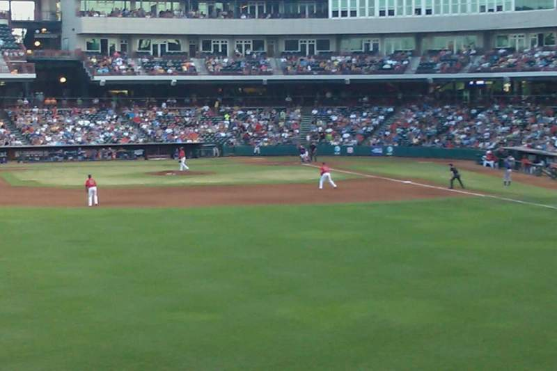 Seating view for Chickasaw Bricktown Ballpark