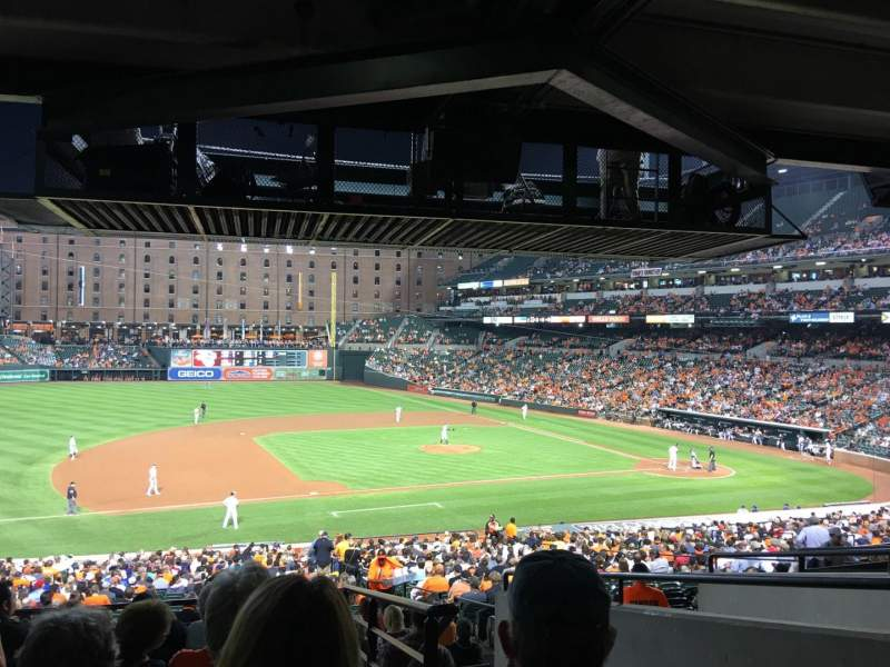 Seating view for Oriole Park at Camden Yards Section 55 Row 8 Seat 2