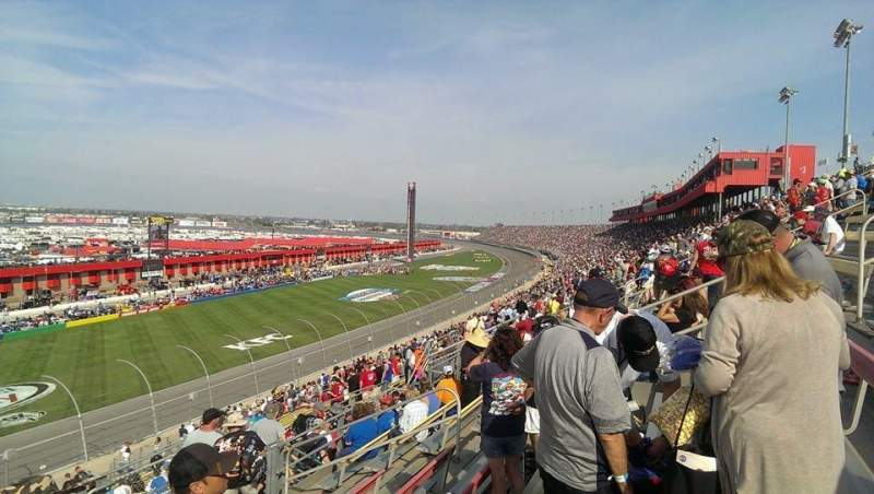 Seating view for Auto Club Speedway Section 44 Row 31 Seat 11