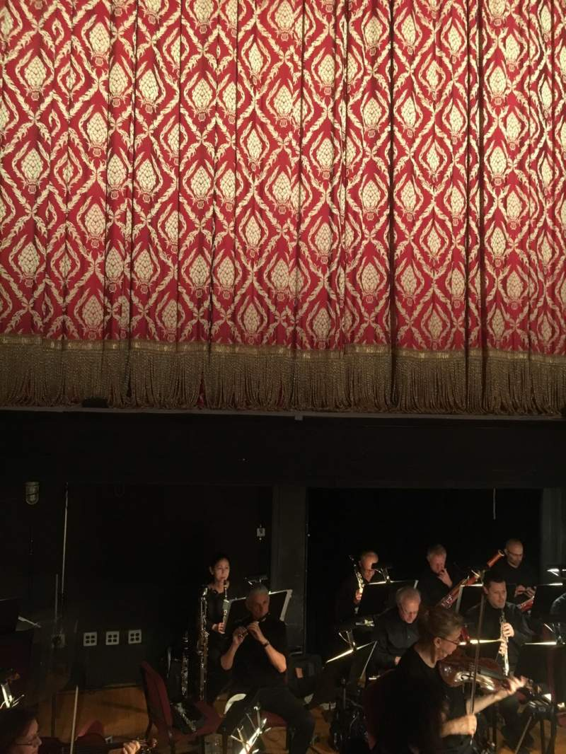 Seating view for Academy of Music Section Parquet Center Row AA Seat 111