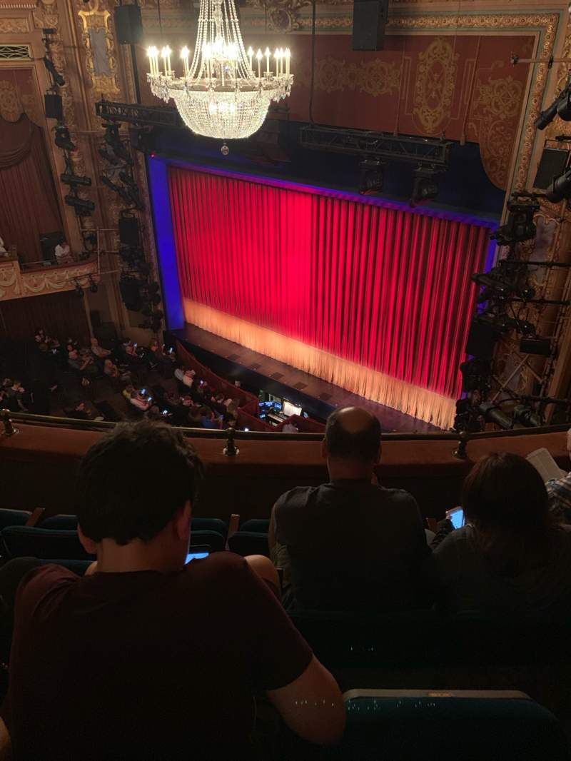 Seating view for Longacre Theatre Section Balcony R Row D Seat 21