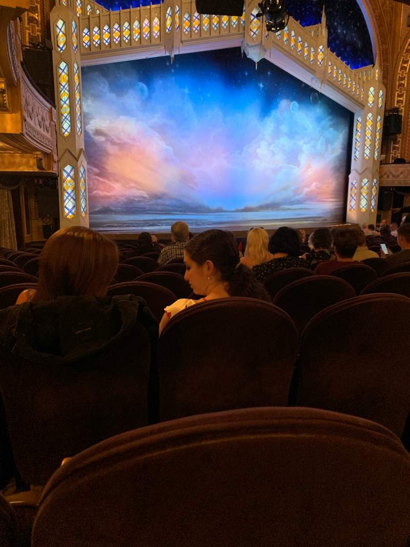 Seating view for Eugene O'Neill Theatre Section Orchestra L Row P Seat 21