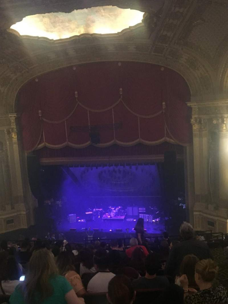 Seating view for Citizens Bank Opera House Section Mez Row M Seat 126