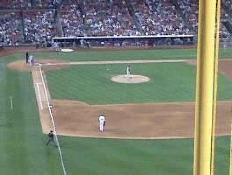 Seating view for Citizens Bank Park Section 305 Row 5 Seat 16