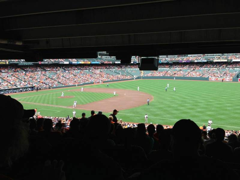 Seating view for Oriole Park at Camden Yards Section 13 Row 13 Seat 9