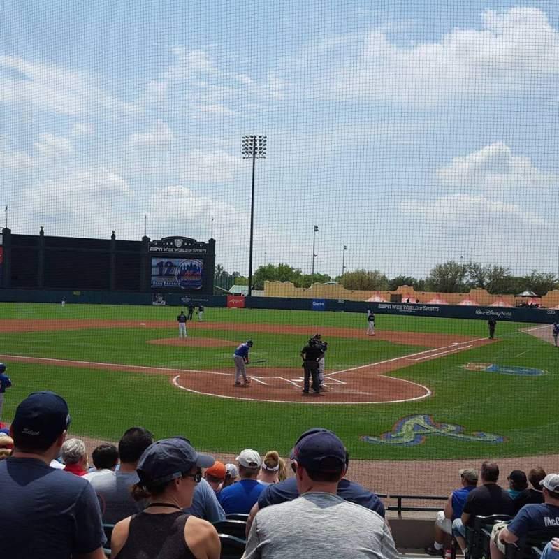 Champion Stadium, section: 114, row: M, seat: 1-2