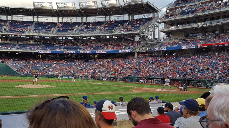 Nationals Park, section: 116, row: K, seat: 13-14