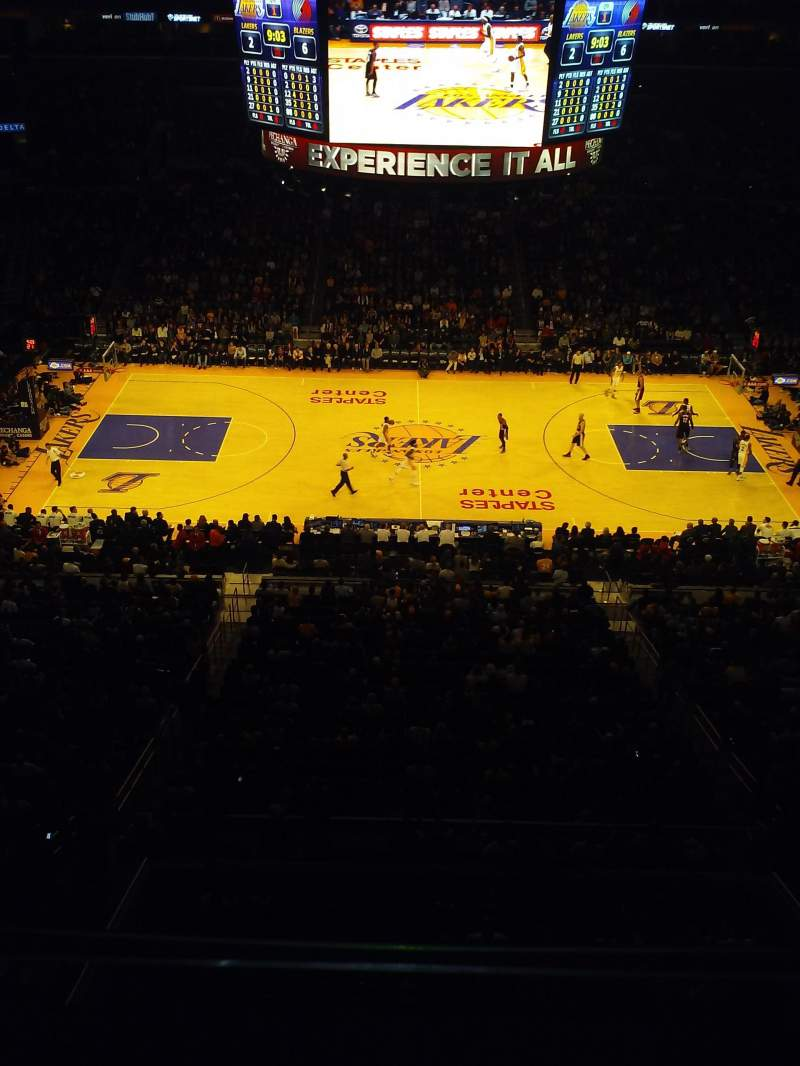 Seating view for Staples Center Section Suite C12 Row ga Seat ga