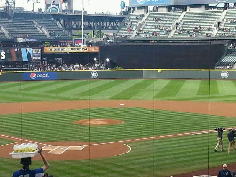 Seating view for Safeco Field Section 128 Row 37 Seat 16