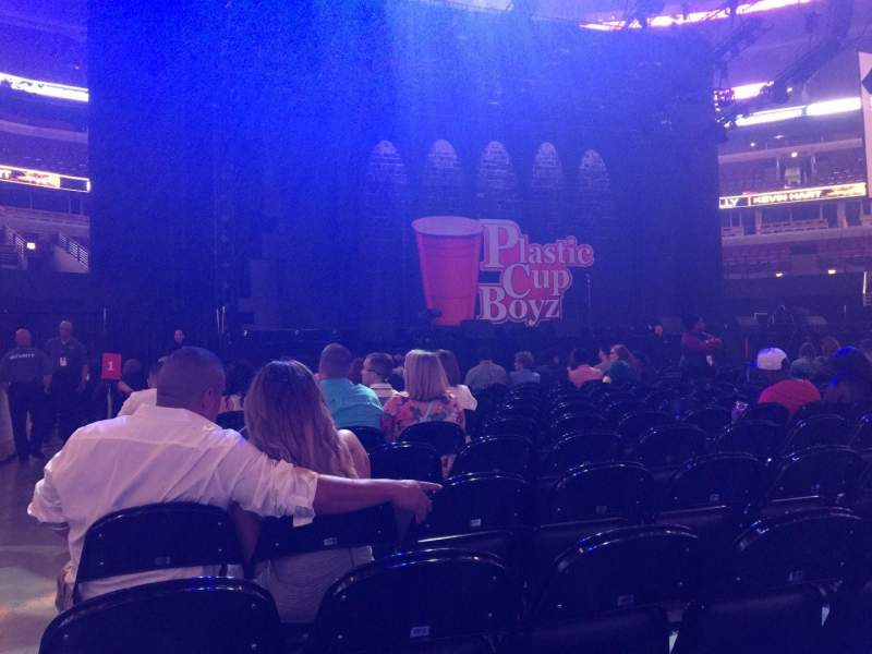 United Center, section: FL 1, row: 16, seat: 1