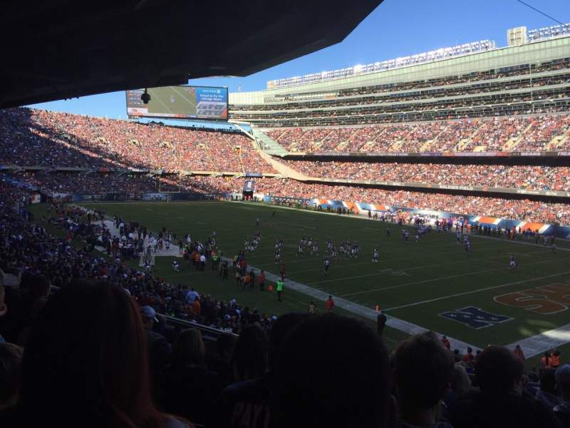 Seating view for Soldier Field Section 230 Row 7 Seat 21