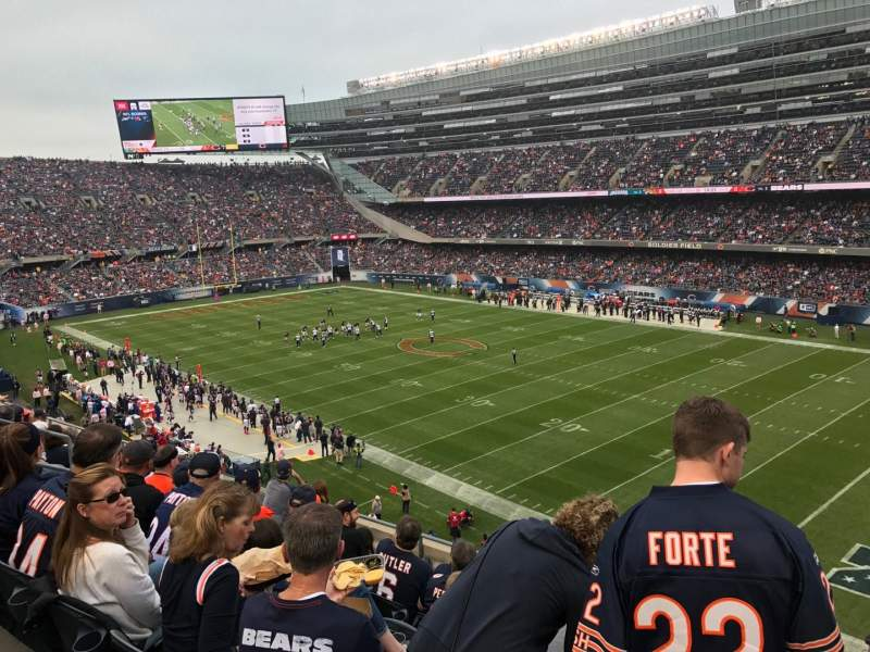 Seating view for Soldier Field Section 331 Row 7 Seat 13