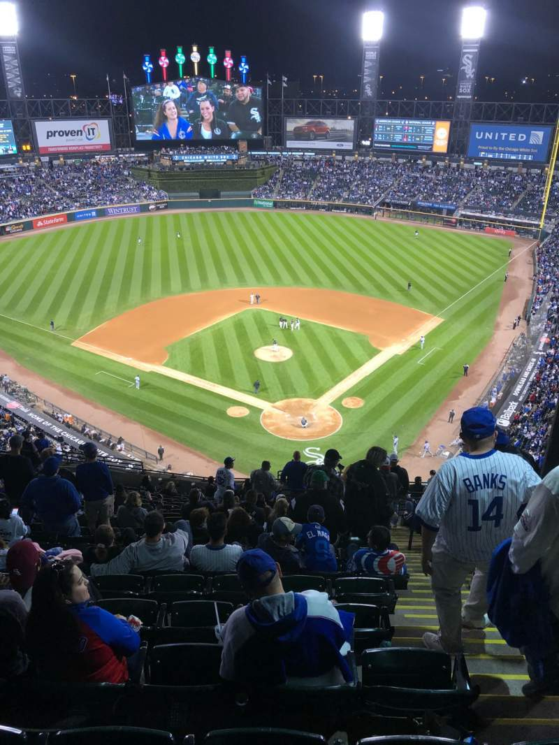 Seating view for Guaranteed Rate Field Section 534 Row 20 Seat 3