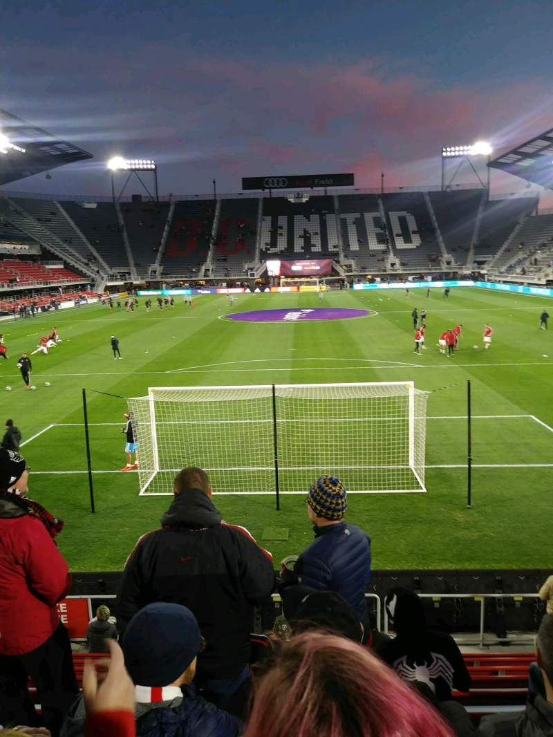 Seating view for Audi Field Section 137 Row 10 Seat 8
