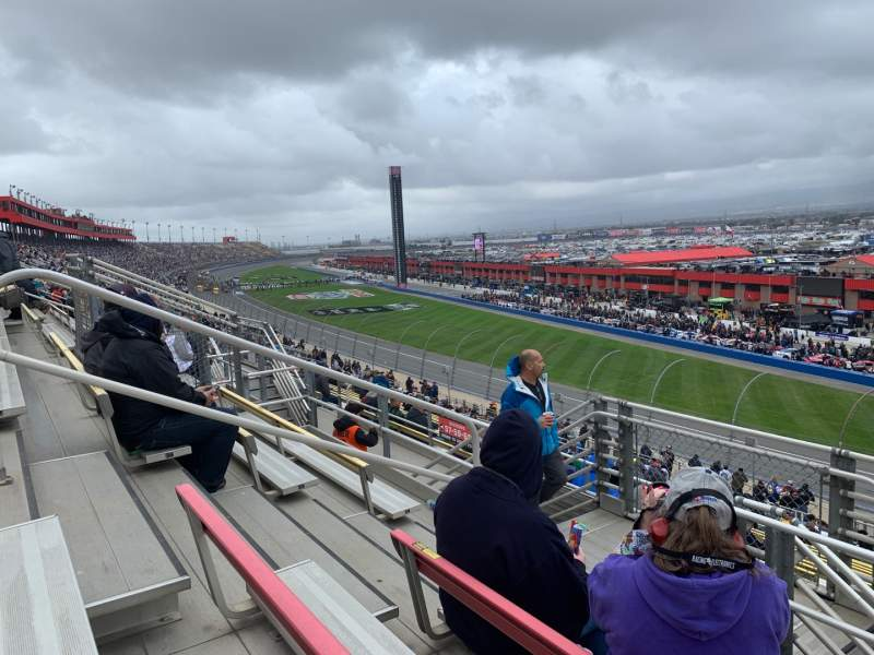 Seating view for Auto Club Speedway Section 61 Row 27 Seat 12
