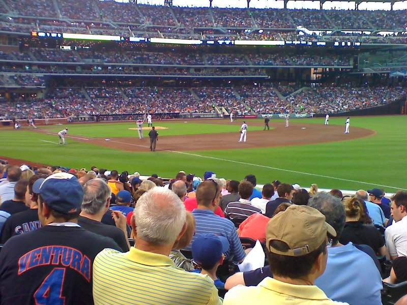 Seating view for Citi Field Section 113 Row 9 Seat 5