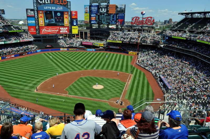 Seating view for Citi Field Section 518 Row 8 Seat 3