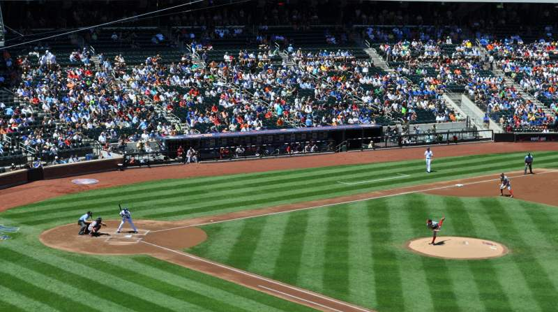 Seating view for Citi Field Section 309 Row 1 Seat 12