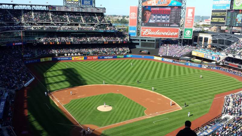 Seating view for Citi Field Section 512 Row 12 Seat 14