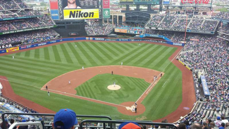 Seating view for Citi Field Section 516 Row 14 Seat 14