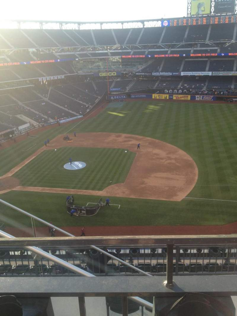 Seating view for Citi Field Section 506 Row 1 Seat 5