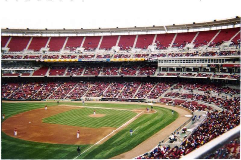 Seating view for Great American Ball Park Section 412 Row A Seat 11