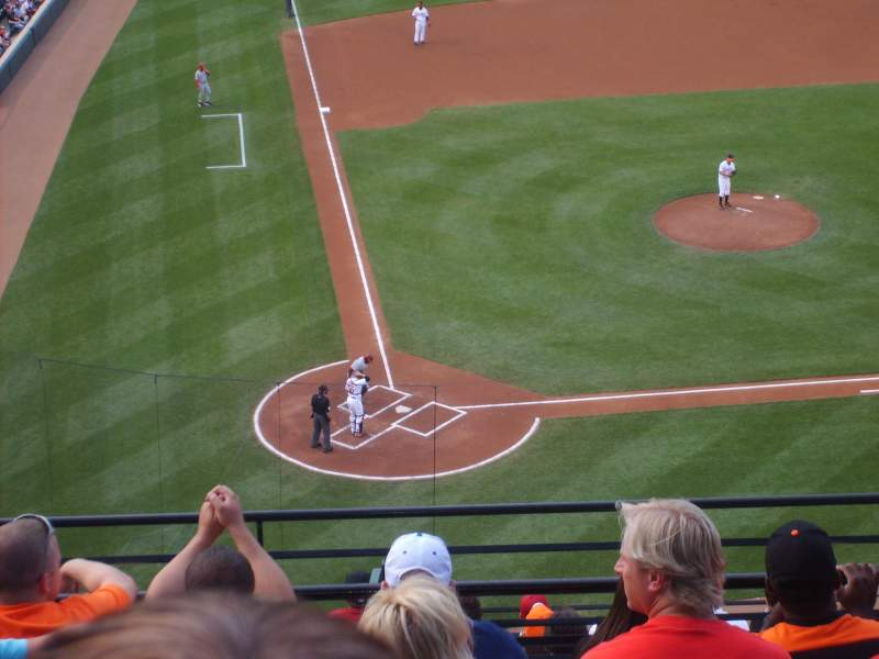 Seating view for Oriole Park at Camden Yards Section 328 Row C Seat 8