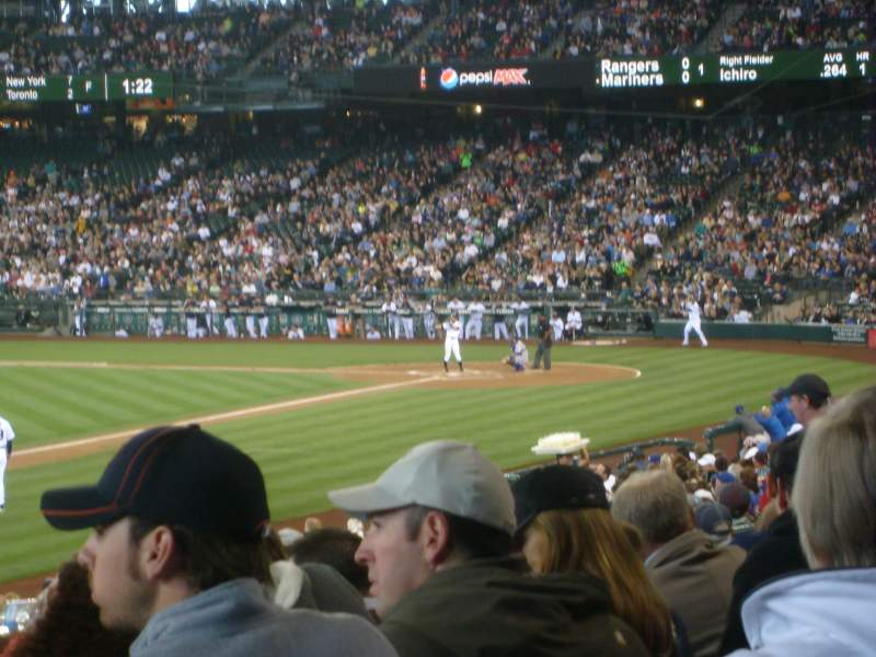 Seating view for Safeco Field Section 144 Row 29 Seat 2