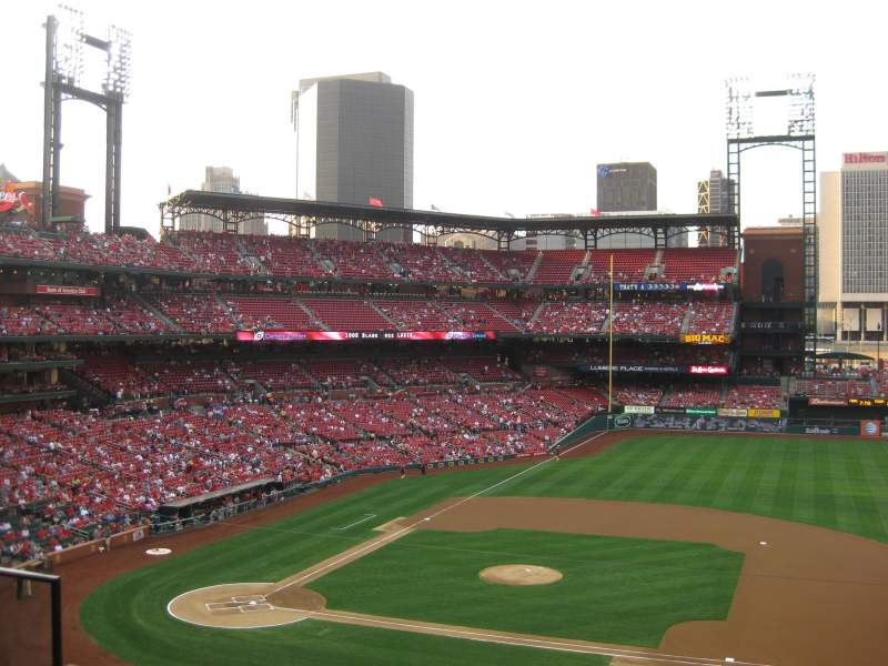Seating view for Busch Stadium Section 242 Row 3 Seat 6