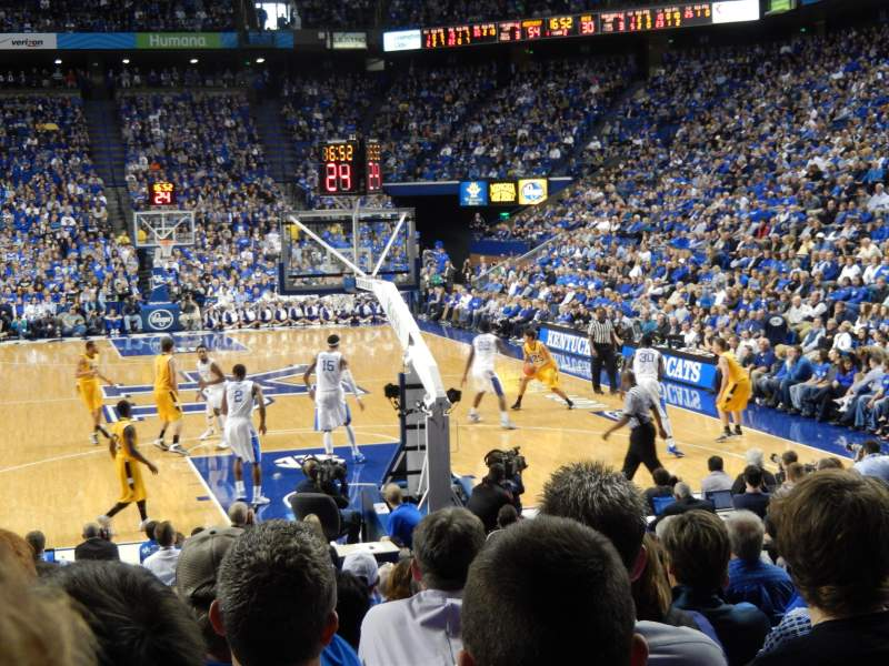 Seating view for Rupp Arena Section 23 Row OO Seat 7