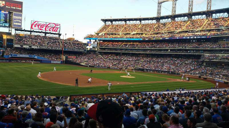 Seating view for Citi Field Section 125 Row 5 Seat 3