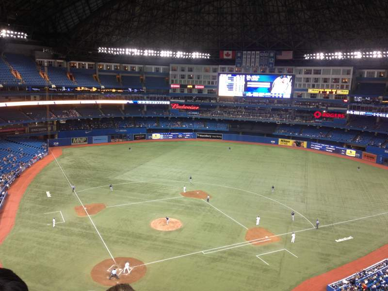 Seating view for Rogers Centre Section 522L Row 7 Seat 103