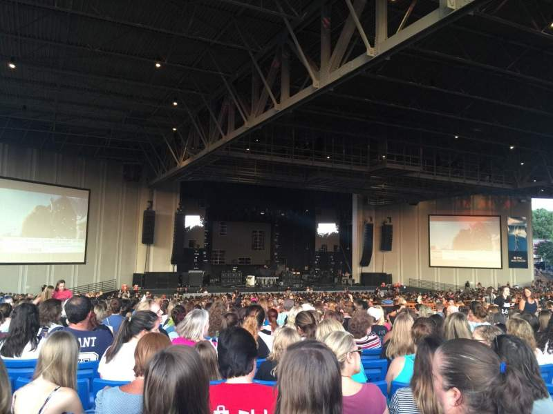 Seating view for PNC Music Pavilion Section 8 Row Y Seat 15