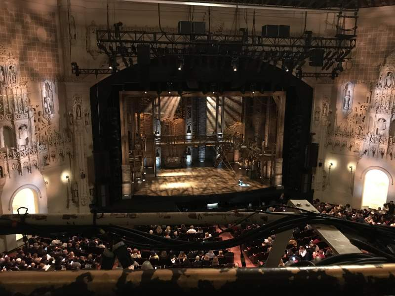 Orpheum Theatre (San Francisco), section: Balcony LC, row: A, seat: 109