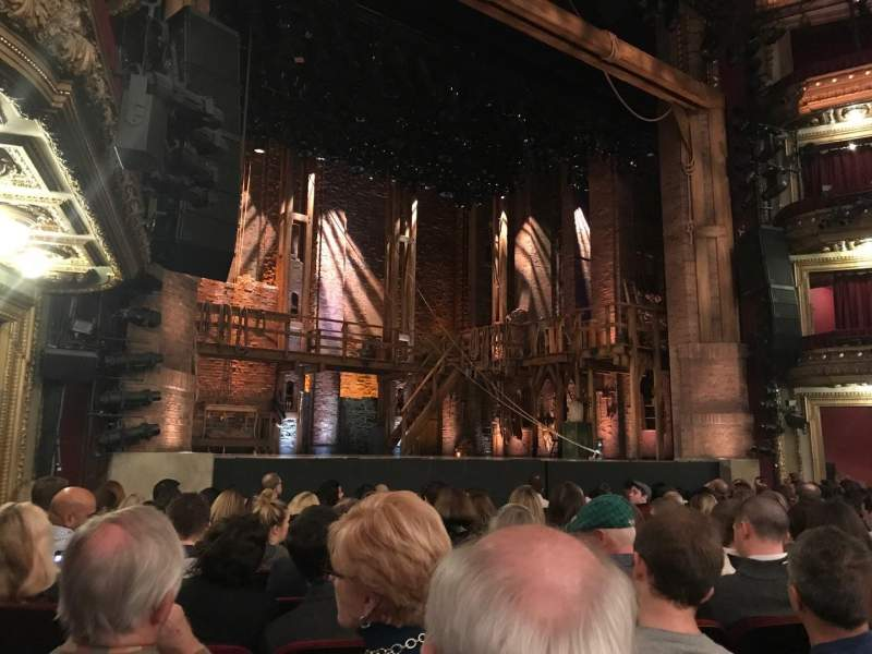 Seating view for CIBC Theatre Section Orchestra L Row L Seat 17