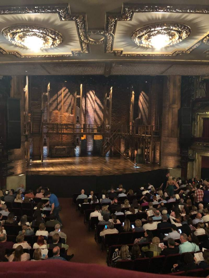 Seating view for CIBC Theatre Section Dress Circle LC Row A Seat 227