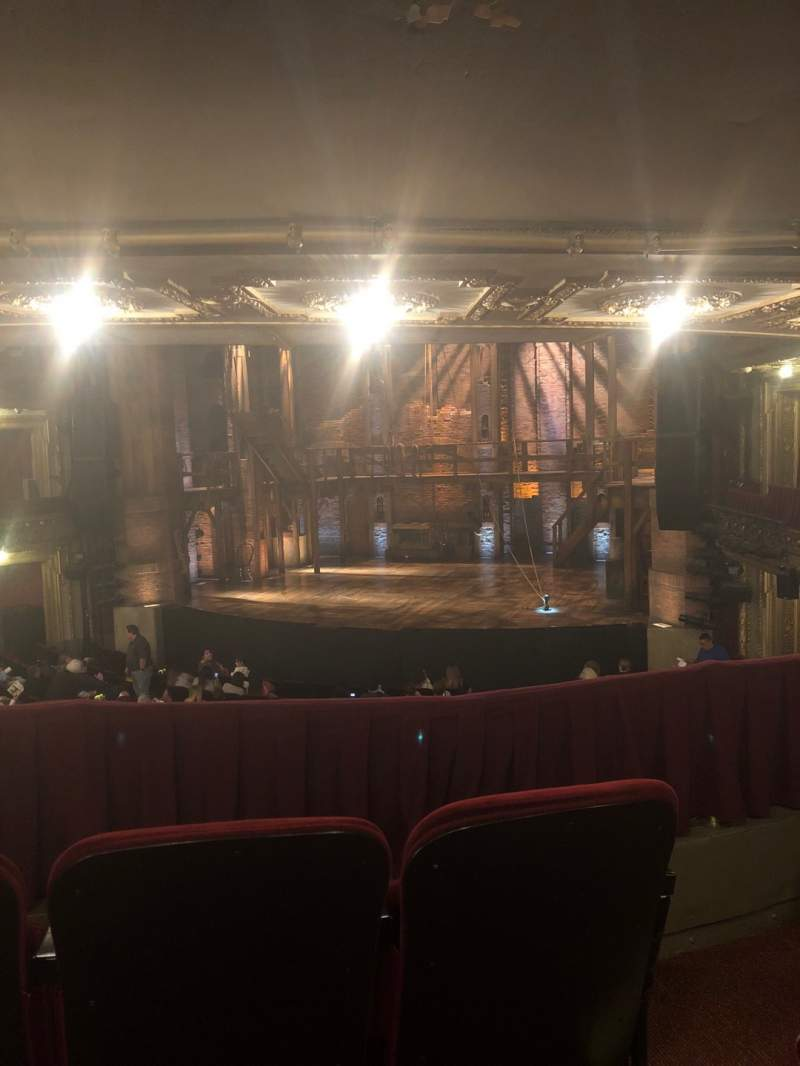 Seating view for CIBC Theatre Section Dress Circle RC Row C Seat 234