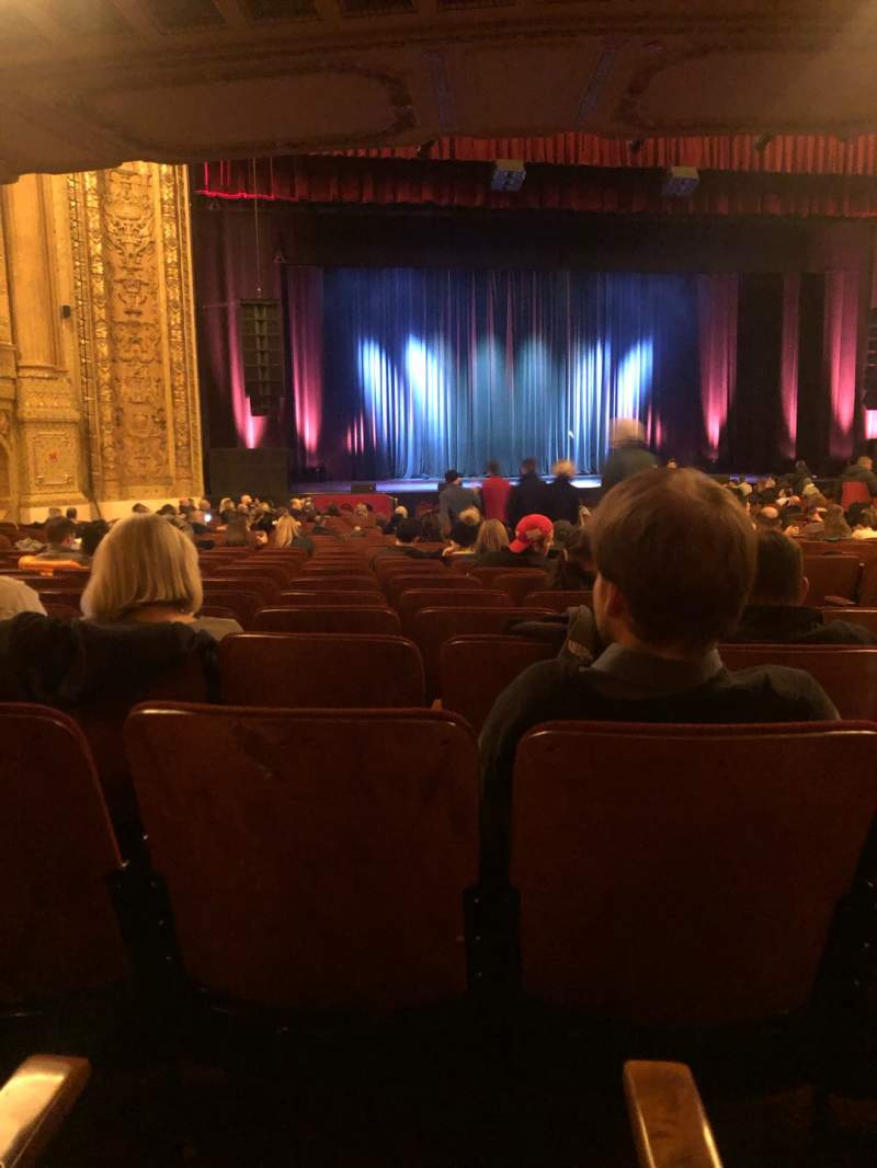 Seating view for Chicago Theatre Section MNFL3L Row N Seat 307