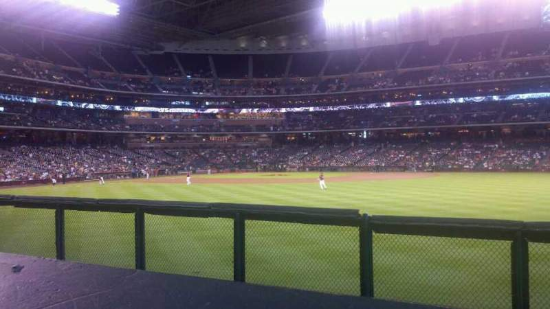 Seating view for Minute Maid Park Section 156 Row 1 Seat 15