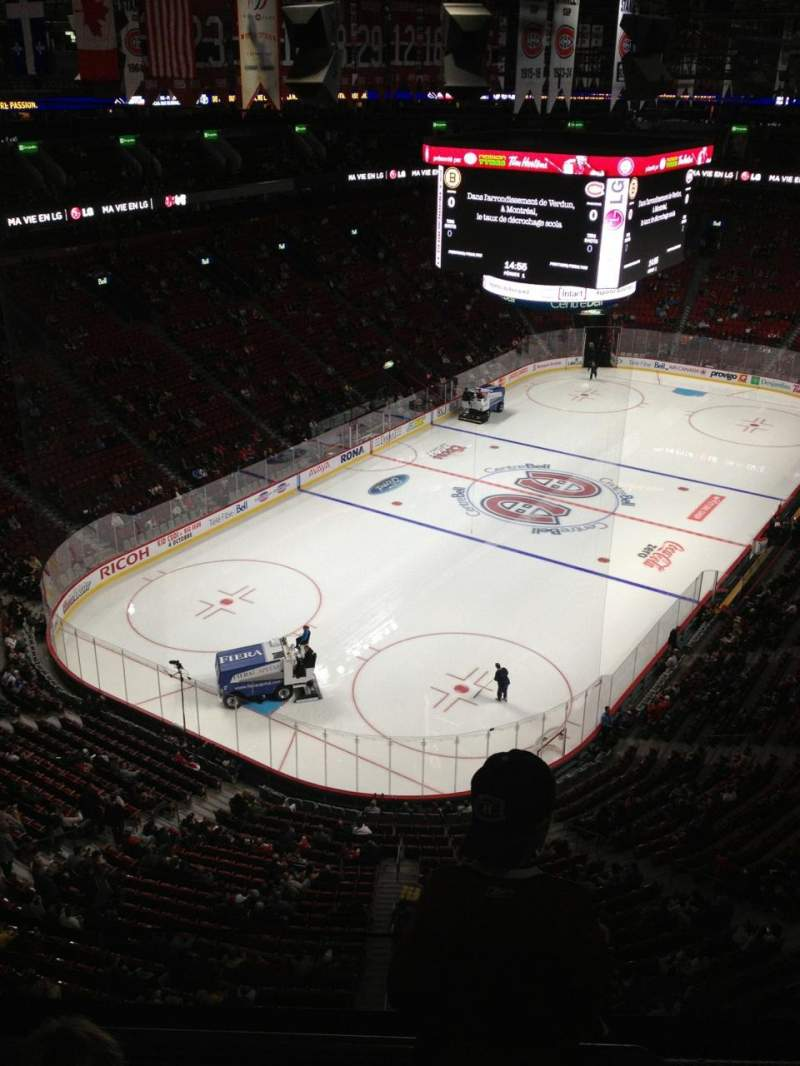 Seating view for Centre Bell Section 307 Row Bb Seat 13