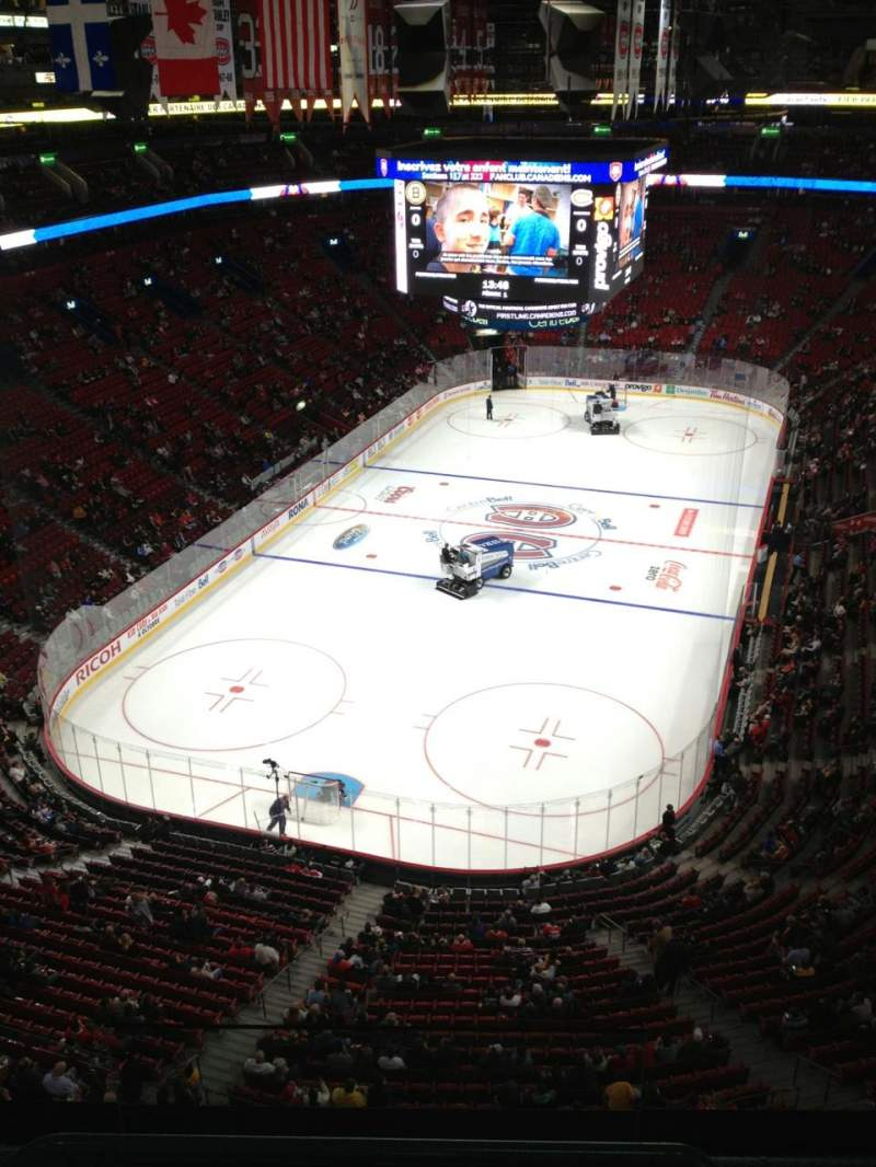 Seating view for Centre Bell Section 308 Row Bb Seat 18
