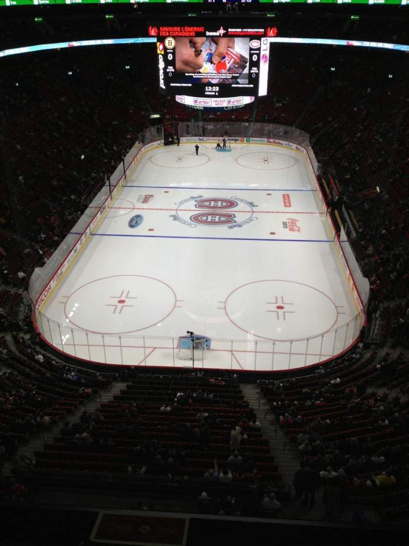 Seating view for Centre Bell Section 310 Row AA Seat 10