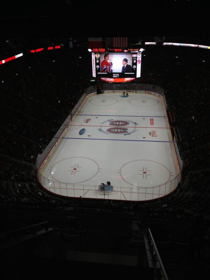 Seating view for Centre Bell Section 309 Row C Seat 22