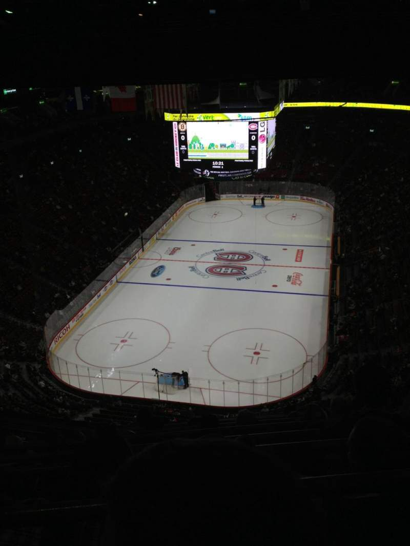 Seating view for Centre Bell Section 309 Row C Seat 7