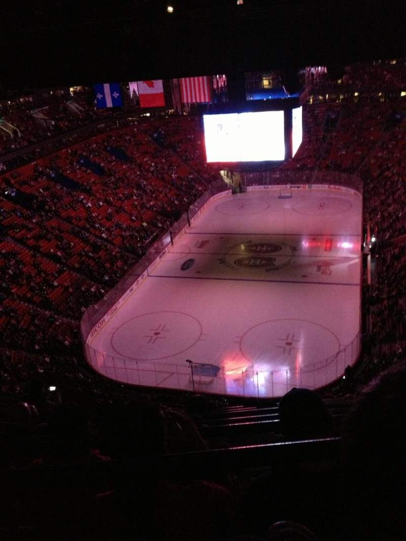Seating view for Centre Bell Section 309 Row C Seat 9