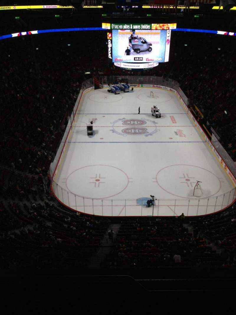 Seating view for Centre Bell Section 310 Row Bb Seat 16