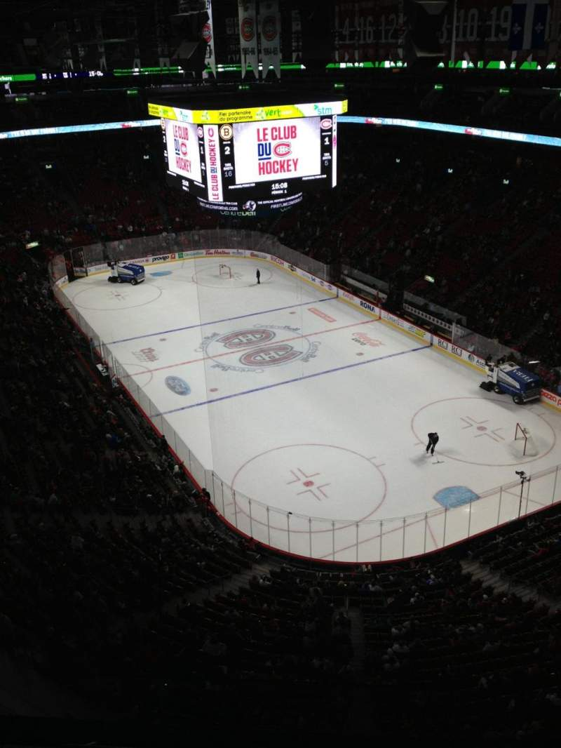 Seating view for Centre Bell Section 312 Row Bb Seat 18